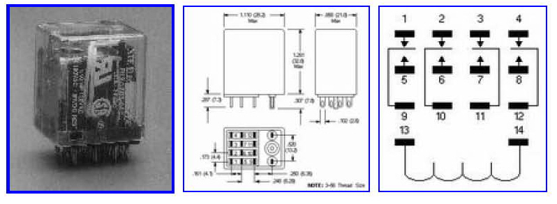 NTE 526 R12 17D3 12 ft 102 relay information by fox tango international Relay Switch Wiring Diagram at n-0.co