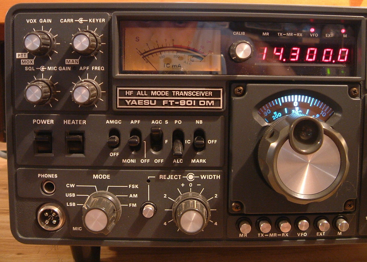 The Yaesu FT901 and FT902 Present by Fox Tango International