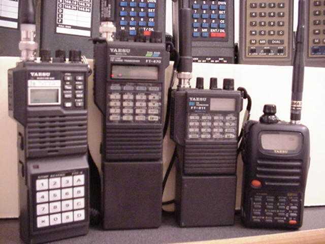 yaesu handheld radios an early look 1970s 1980