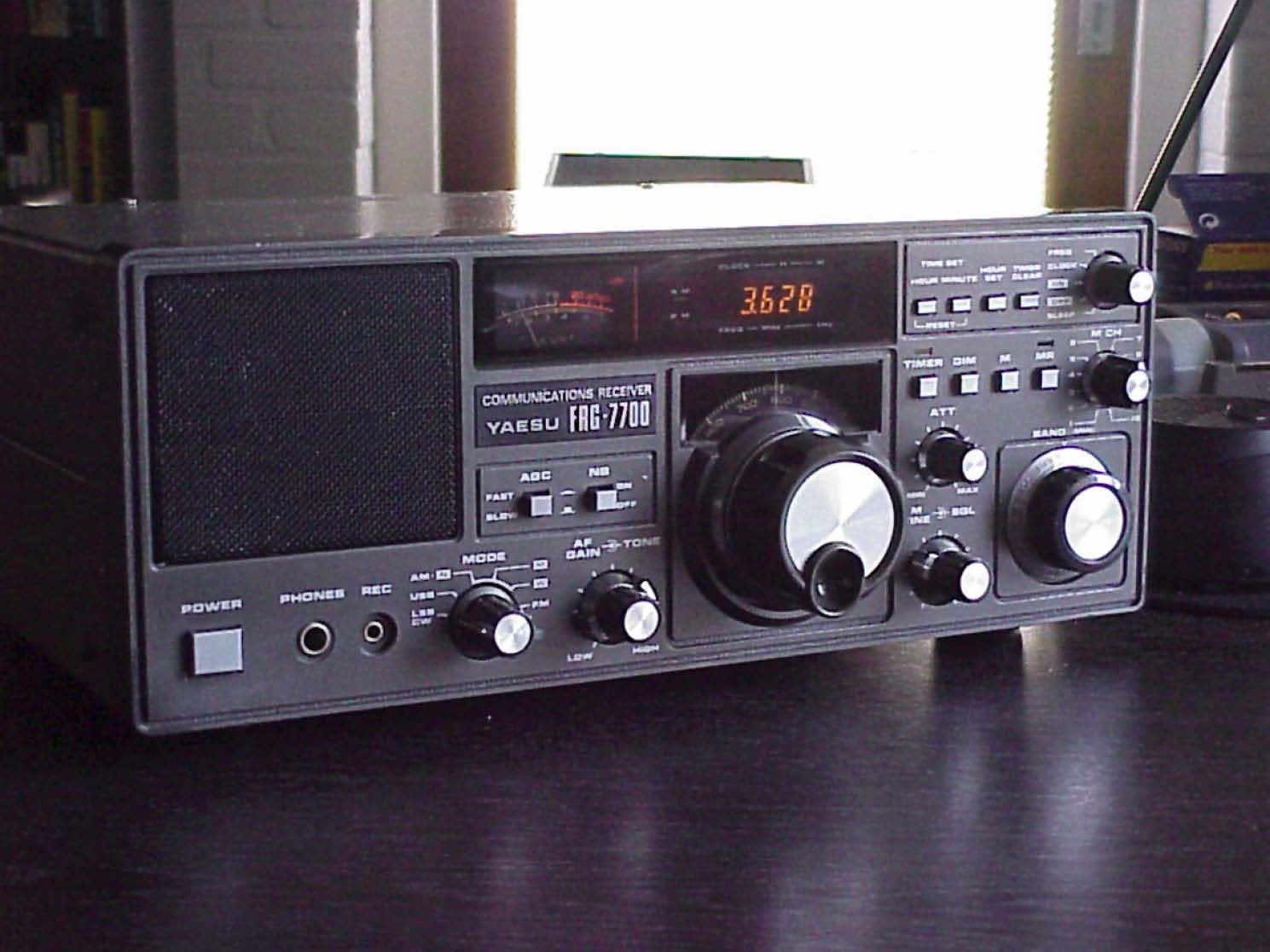 Click for larger view. Yaesu FRG-7700. Survival Guide