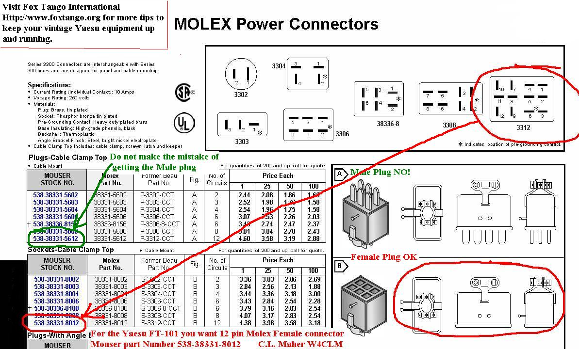 Mouser Cinch Jones yaesu ft 101 hf transceiver web Snake Wiring-Diagram at suagrazia.org